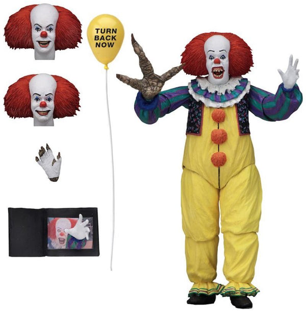 IT 1990 – 7″ Scale Action Figure – Ultimate Pennywise v2-NECA-45471-Classic Horror Shop