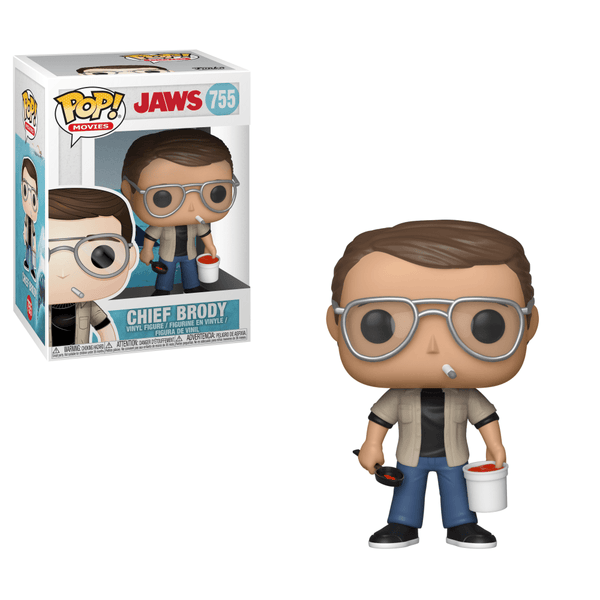 JAWS - Chief Brody Pop! Vinyl Funko-Funko-1-38554-Classic Horror Shop
