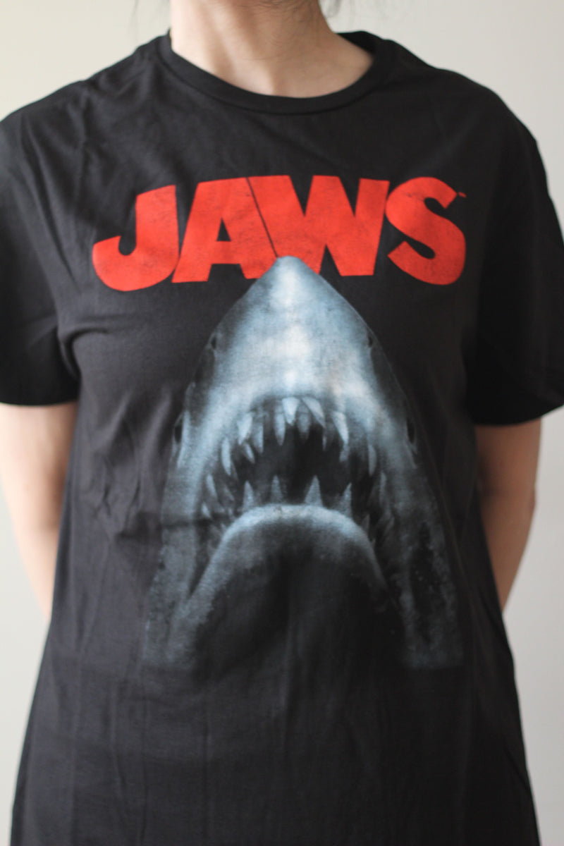JAWS - Adult Men's T-Shirt-T-Shirt-1-Classic Horror Shop