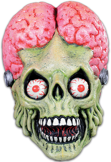MARS ATTACKS! - Drone Martian Full Head Mask-Mask-1-MB-BFTC10-Classic Horror Shop