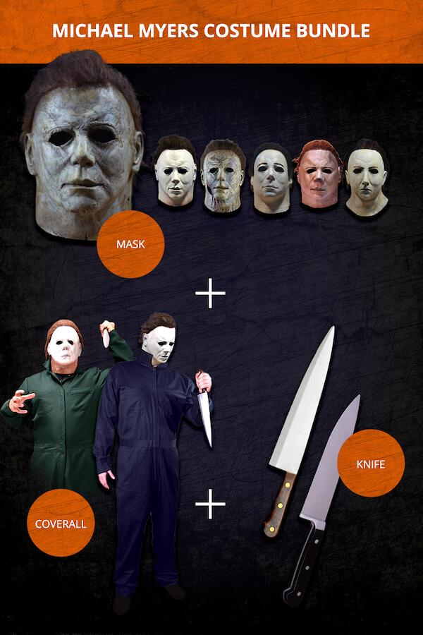HALLOWEEN: Michael Myers Full Costume Bundles (Adult)-Costume-Classic Horror Shop