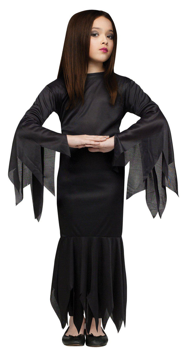 THE ADDAMS FAMILY - Morticia Child's Costume-Costume-1-Classic Horror Shop