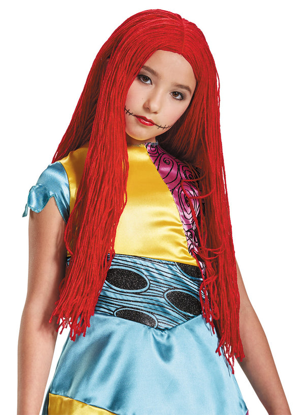 NIGHTMARE BEFORE CHRISTMAS - Child's Sally Wig-Wig-1-DG-21595-Classic Horror Shop