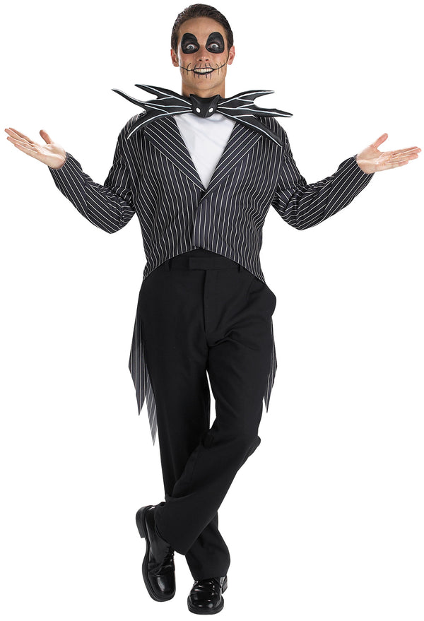 NIGHTMARE BEFORE CHRISTMAS - Adult Men's Jack Skellington Costume-Costume-1-DG-5686-Classic Horror Shop
