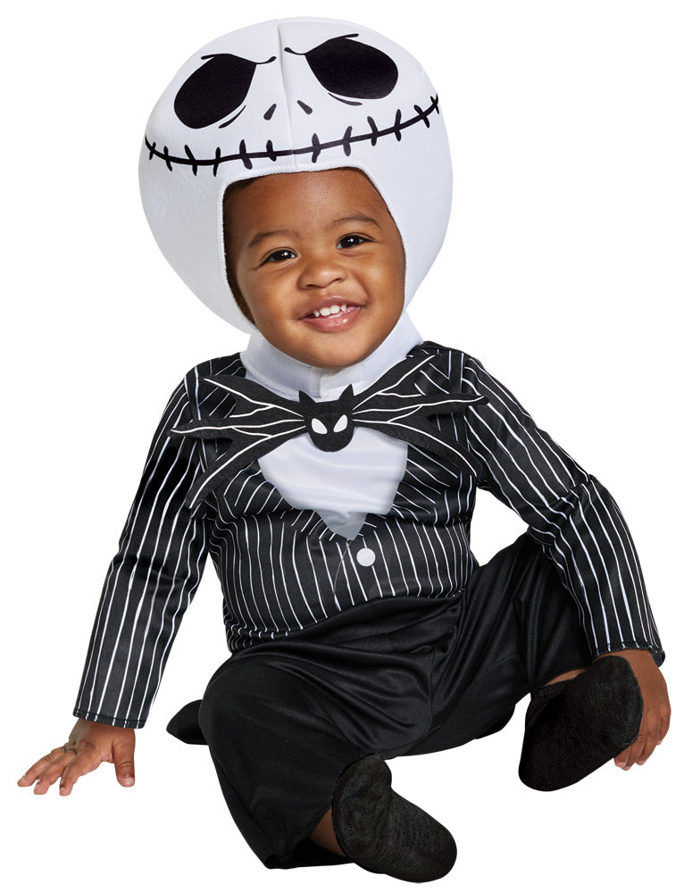 NIGHTMARE BEFORE CHRISTMAS - Infant Jack Skellington Costume-Costume-1-DG-79506W-Classic Horror Shop