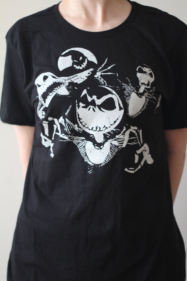 NIGHTMARE BEFORE CHRISTMAS - Adult Men's T-shirt-T-Shirt-1-Classic Horror Shop