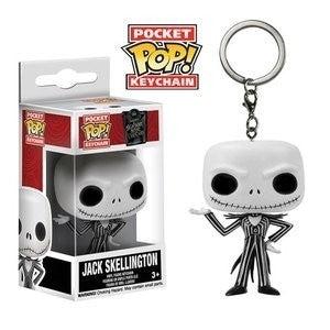 NIGHTMARE BEFORE CHRISTMAS - Jack Skellington Pop! Keychain Funko-Funko-1-5315-Classic Horror Shop