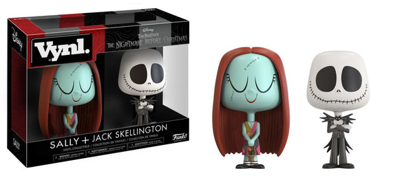 NIGHTMARE BEFORE CHRISTMAS - Jack and Sally VYNL Funko-Funko-1-21191-Classic Horror Shop