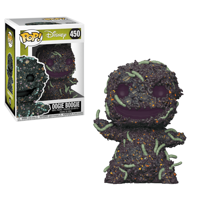 NIGHTMARE BEFORE CHRISTMAS - Oogie Boogie With Bugs Pop! Vinyl Funko-Funko-1-32838-Classic Horror Shop