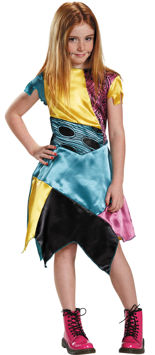 NIGHTMARE BEFORE CHRISTMAS - Child's Sally Costume-Costume-1-Classic Horror Shop