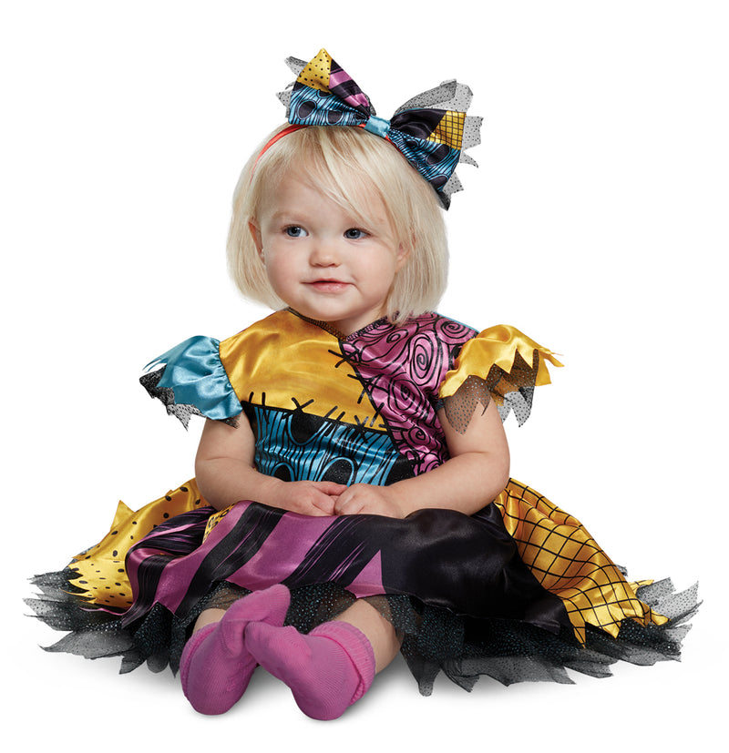 NIGHTMARE BEFORE CHRISTMAS - Infant Sally Costume 12-18mo-Costume-1-DG-79532W-Classic Horror Shop