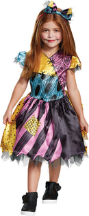 NIGHTMARE BEFORE CHRISTMAS - Toddler Sally Costume 3-4T-Costume-1-DG-79532M-Classic Horror Shop