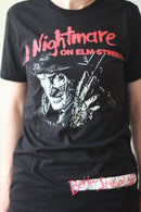 A NIGHTMARE ON ELM ST - Adult Freddy, Better Stay Up Late T-shirt Men's-T-shirt-1-Classic Horror Shop