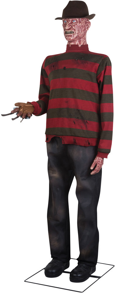A NIGHTMARE ON ELM ST - Freddy Krueger Animated Life-Sized Prop-Prop-1-SS-222216G-Classic Horror Shop