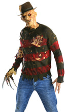 A NIGHTMARE ON ELM ST - Freddy Krueger Sweater With Flesh-Costume-1-RU-881566-Classic Horror Shop