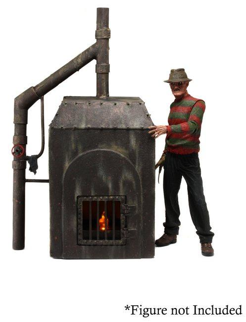 A NIGHTMARE ON ELM ST - NECA Freddy Krueger Diorama - Freddy's Furnace-NECA-2-39819-Classic Horror Shop