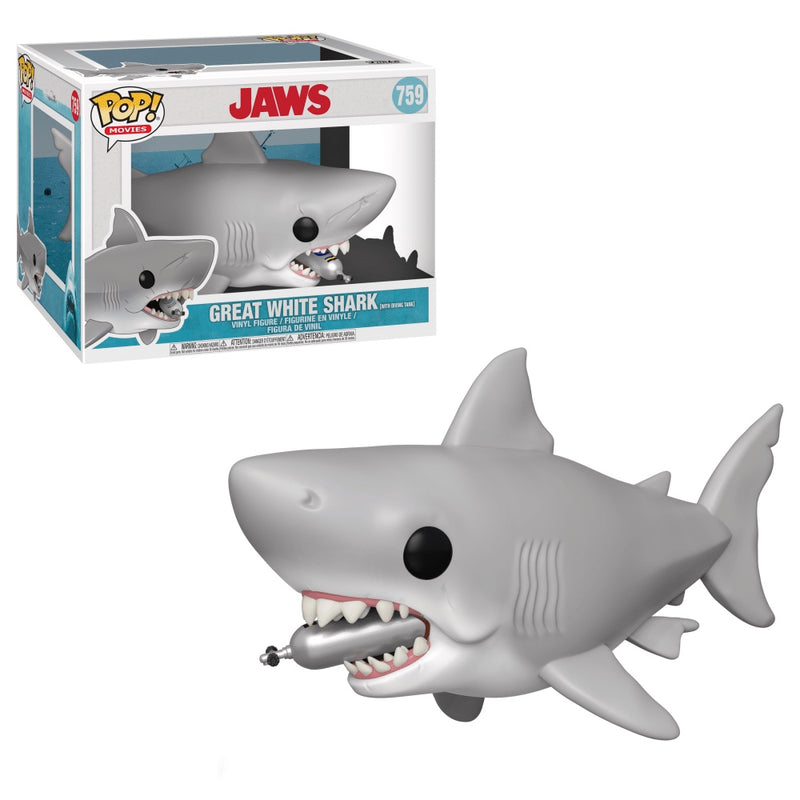 "JAWS - Shark With Tank Pop! Vinyl 6"" Funko-Funko-1-38567-Classic Horror Shop"