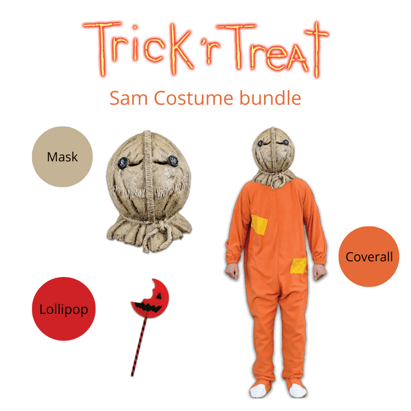 Sam Trick 'R Treat Costume Bundle Classic Horror Shop