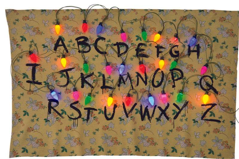 STRANGER THINGS - Alphabet Tapestry-Decor-1-200145-Classic Horror Shop