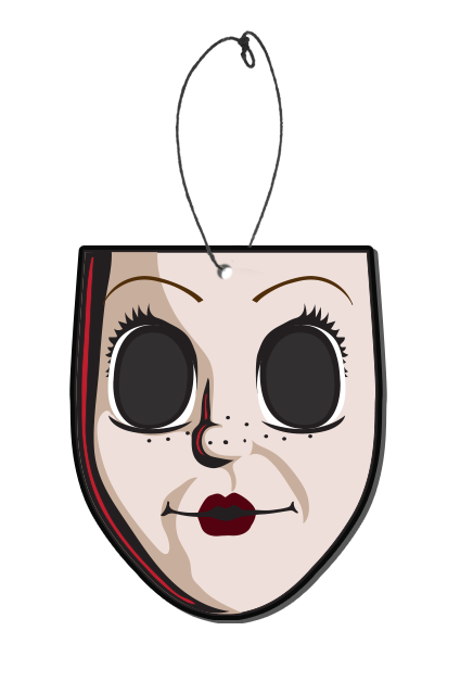 THE STRANGERS: PREY AT NIGHT - Dollface Freshener-Freshener-1-SFRL100-Classic Horror Shop