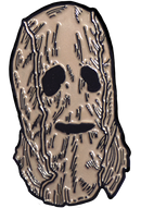 THE STRANGERS: PREY AT NIGHT - Man In The Mask Enamel Pin-Enamel Pin-1-BXRL105-Classic Horror Shop