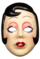 THE STRANGERS: PREY AT NIGHT - Pin Up Girl Mask-Mask-1-ARRL103-Classic Horror Shop