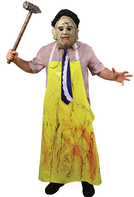 THE TEXAS CHAINSAW MASSACRE - Adult Leatherface Costume-Costume-1-TTRL106-Classic Horror Shop