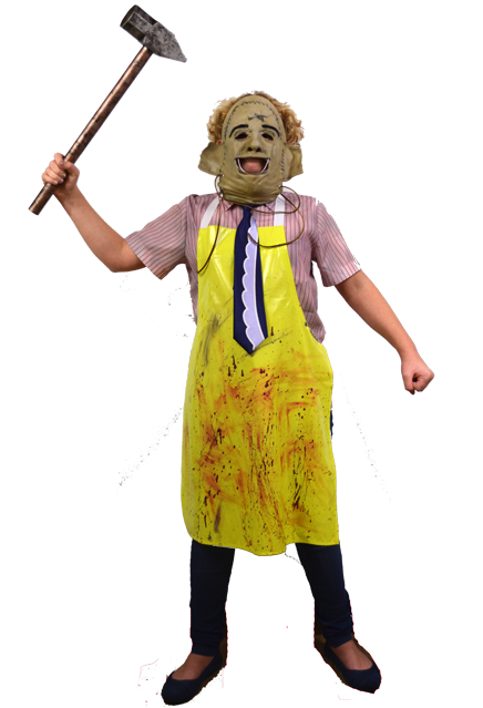 THE TEXAS CHAINSAW MASSACRE - Child's Leatherface Costume-Costume-1-TTRL107-Classic Horror Shop