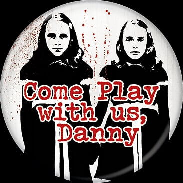 THE SHINING - Come Play Danny Button-Button-1-85815-Classic Horror Shop