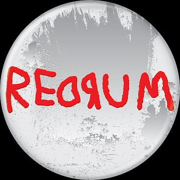 THE SHINING - Redrum Button-Button-1-85811-Classic Horror Shop