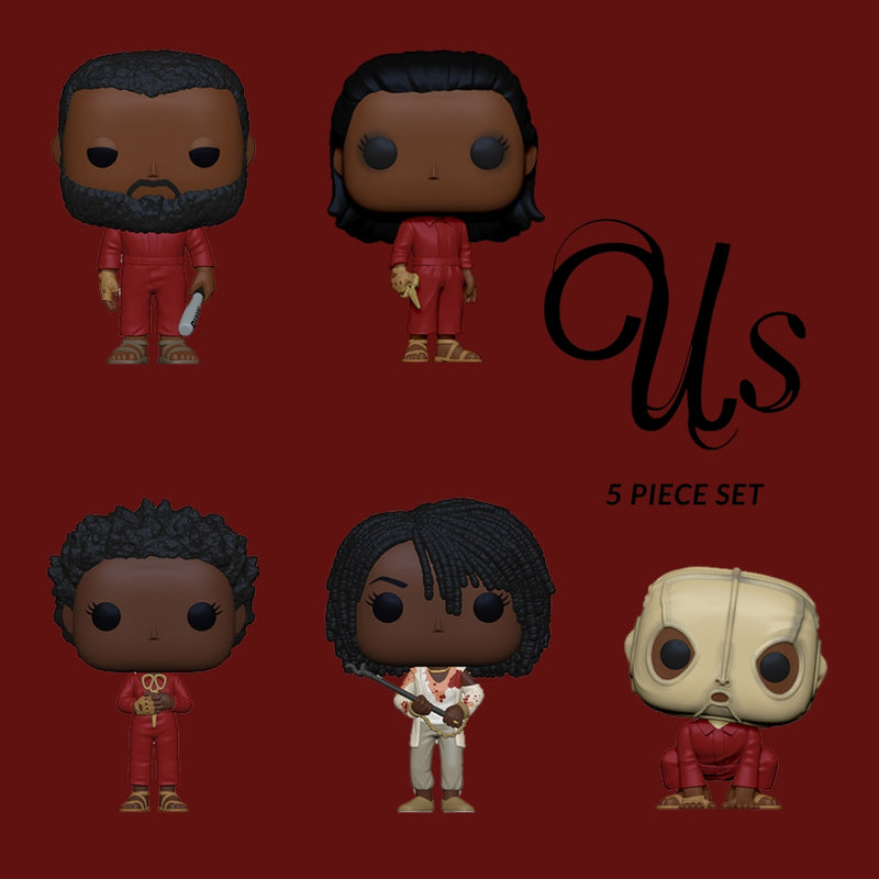 Jordan Peele's US - 5 piece set Pop! Vinyl Funko-Funko-44311-5-Classic Horror Shop