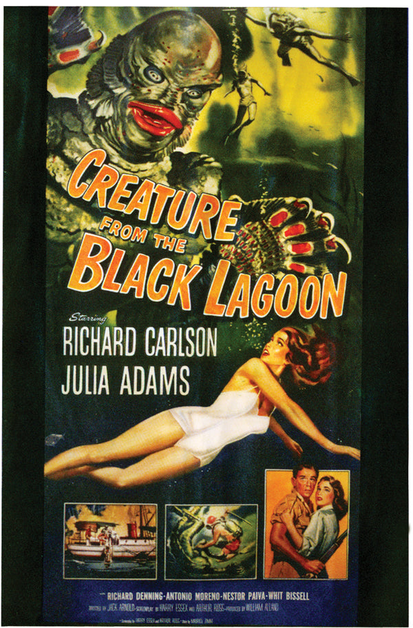 UNIVERSAL MONSTERS - Creature From The Black Lagoon Poster Cling-Decor-1-PM-11382-Classic Horror Shop