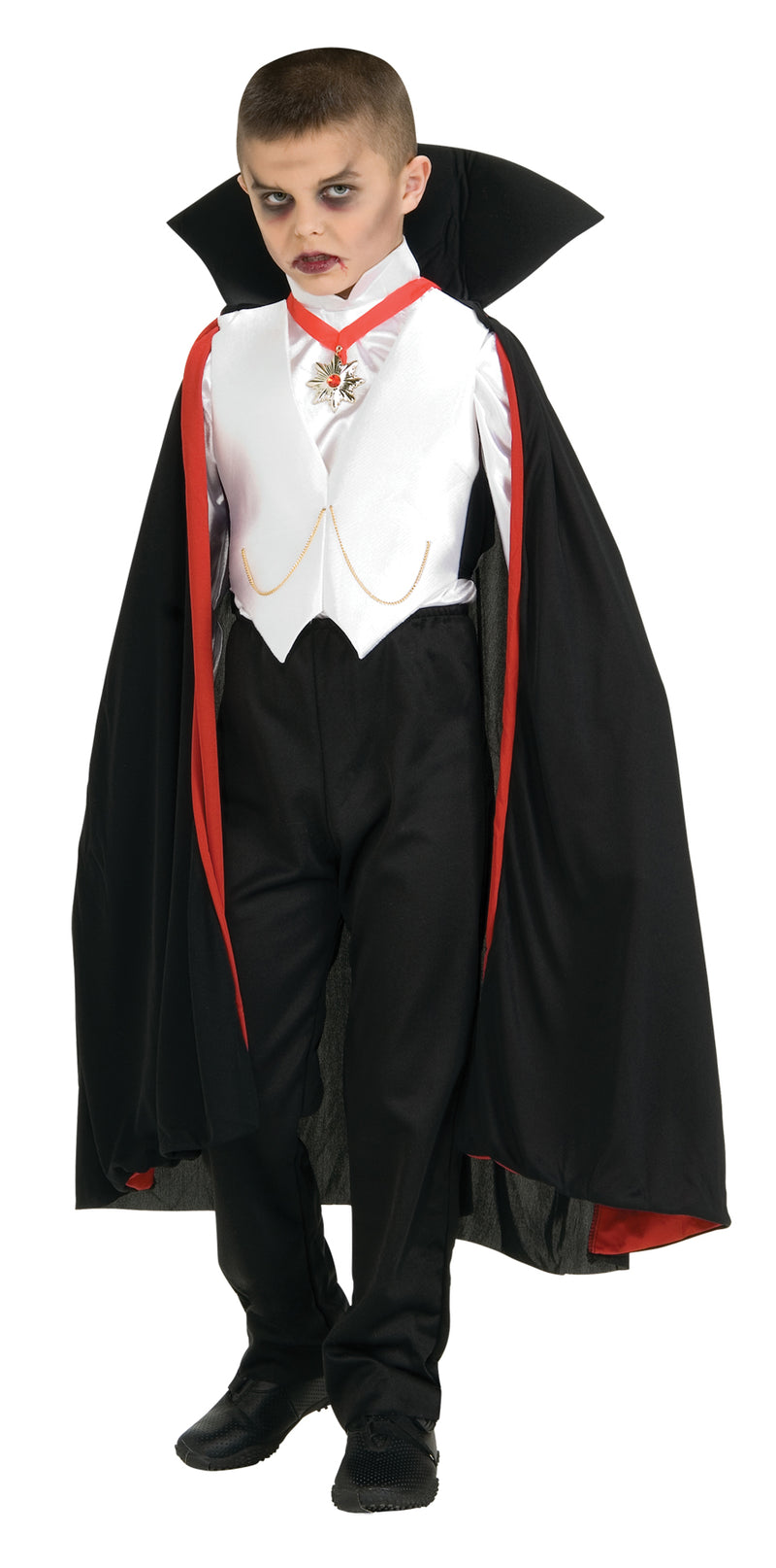 UNIVERSAL MONSTERS - Dracula Child's Costume Medium-Costume-1-RU-882819MD-Classic Horror Shop
