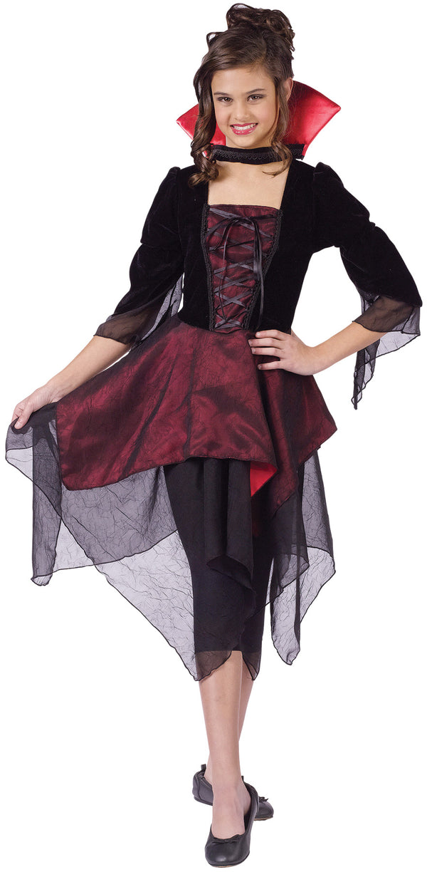 Dracula Child's Dress Costume 4-6-Costume-1-FW-110632SM-Classic Horror Shop