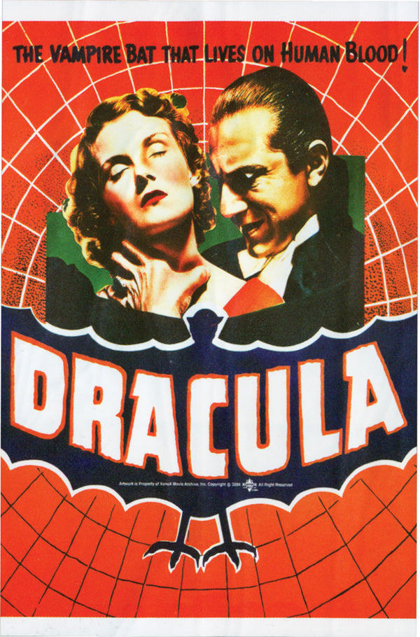 UNIVERSAL MONSTERS - Dracula Poster Cling-Decor-1-PM-11381-Classic Horror Shop
