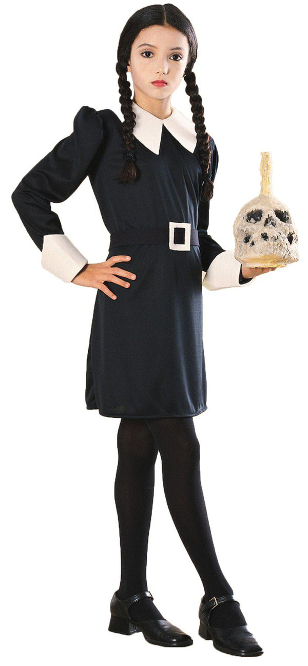 THE ADDAMS FAMILY - Wednesday Child's Costume-Costume-Classic Horror Shop