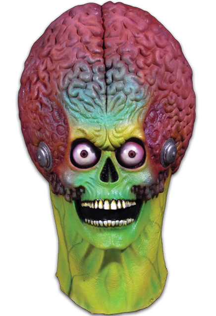 MARS ATTACKS! - Soldier Martian Full Head Mask-Mask-1-MA-TTTC100-Classic Horror Shop