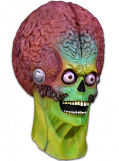 MARS ATTACKS! - Soldier Martian Full Head Mask-Mask-2-MA-TTTC100-Classic Horror Shop
