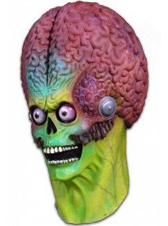 MARS ATTACKS! - Soldier Martian Full Head Mask-Mask-3-MA-TTTC100-Classic Horror Shop