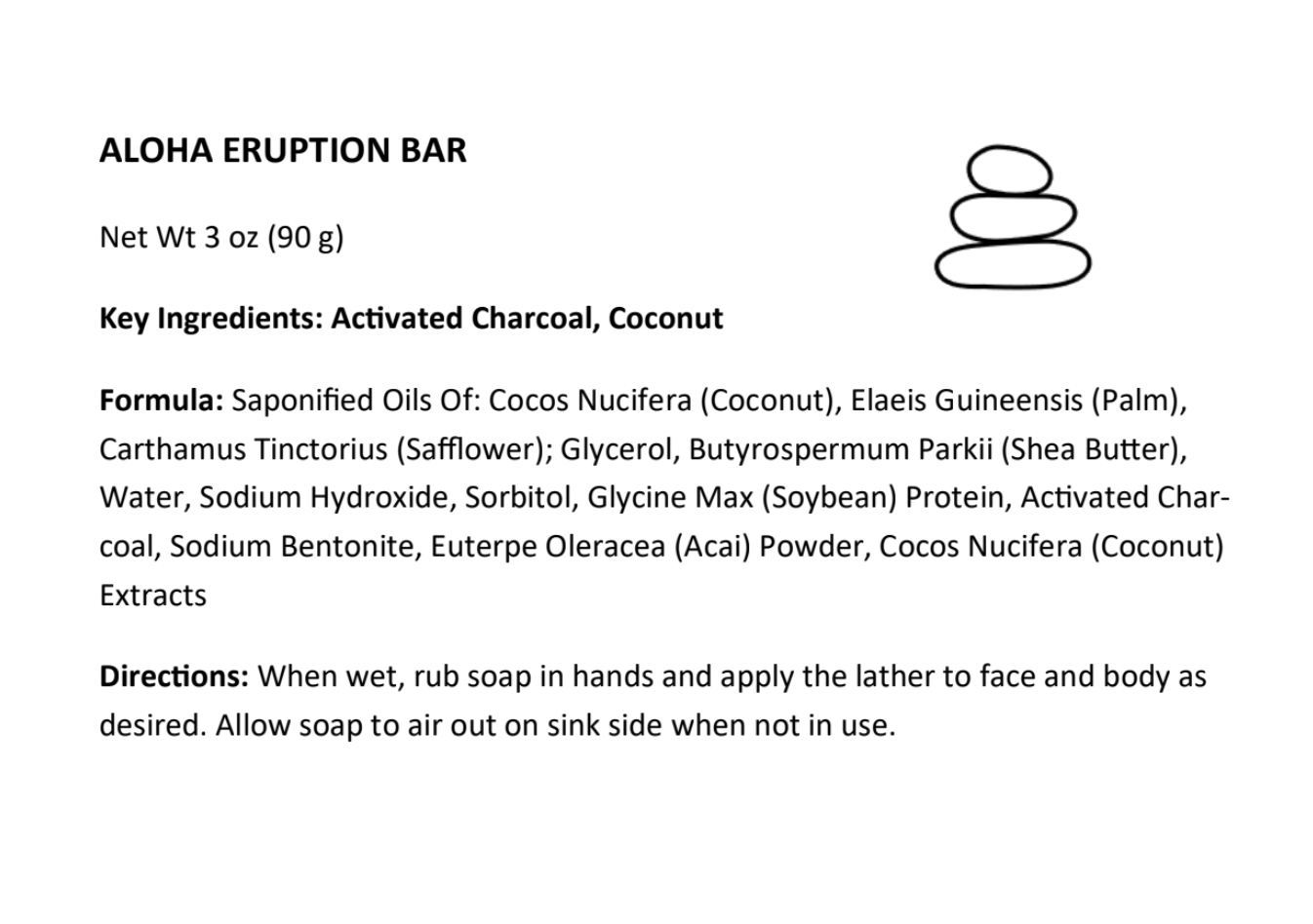 Aloha Eruption Bar