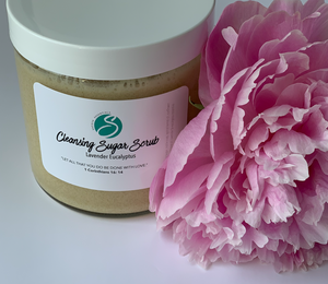 Cleansing Sugar Scrub. (16 oz)