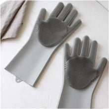 Load image into Gallery viewer, Magic Silicone Scrubbing Gloves