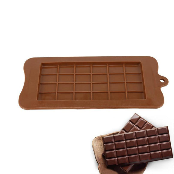 Moule silicone - forme tablette de chocolat - Hyper-Kitchen