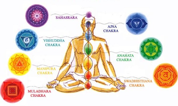The 7 Chakras - the energy centers of the body