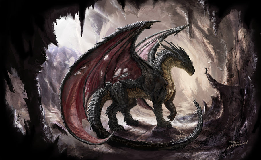 Dragon, the symbol of universal mythology
