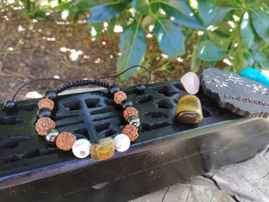 Trust, Power, Patience and Intuition Amulet Talisman Handmade Bracelet - LifeIsPureMagic