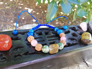 Good Luck and Prosperity Magnet Amulet Talisman Handmade Braided Bracelet - LifeIsPureMagic