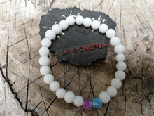 Handmade Flexible Bracelet Aura Cleanse Anxiety Calming Agate Stones - LifeIsPureMagic