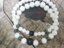 Interior Strength Power and Success Onyx Hematite Agate Stones Talisman Handmade Bundle Bracelets - LifeIsPureMagic