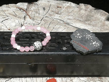 Only Good Vibes Anti Stress Detox Pink Quartz Agate Stones Flexible Talisman Handmade Bracelet - LifeIsPureMagic